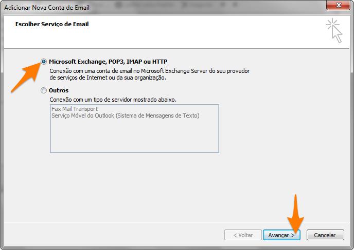 Outlook 2007 - ViaMail IMAP