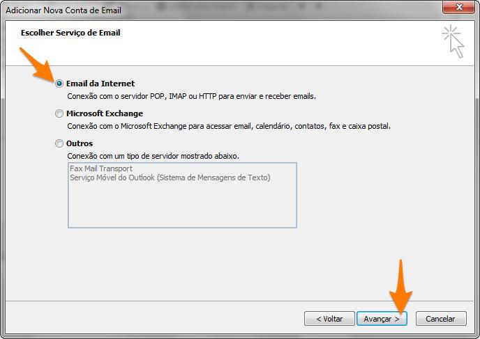 Outlook 2007 - ViaMail POP