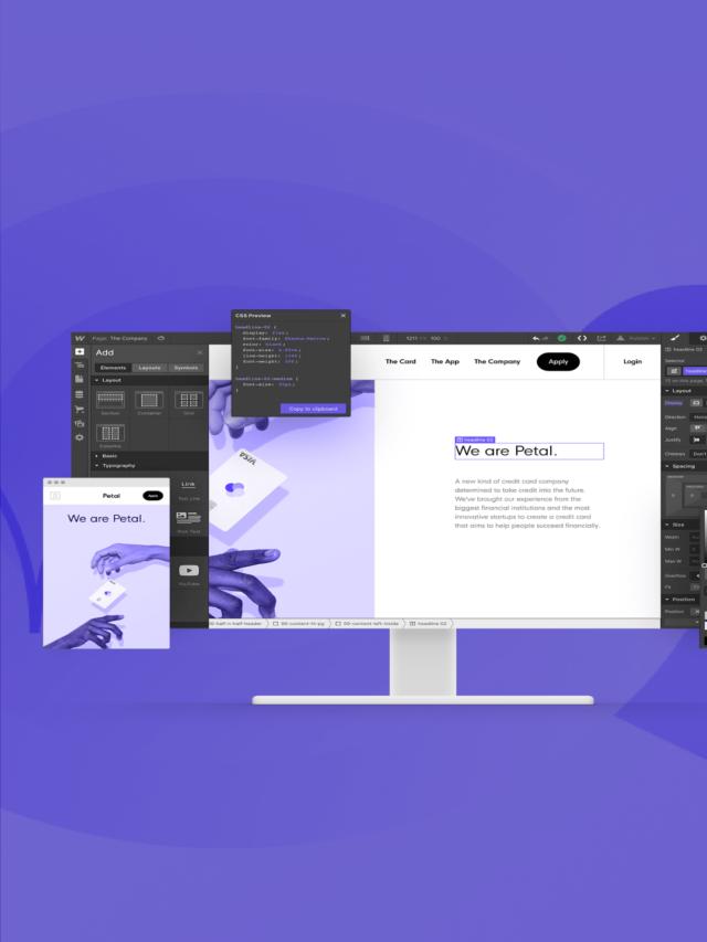 Webflow uma alternativa poderosa ao WordPress